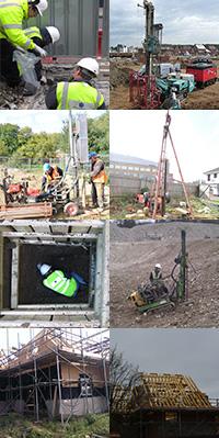 soil survey, site investigation, site survey