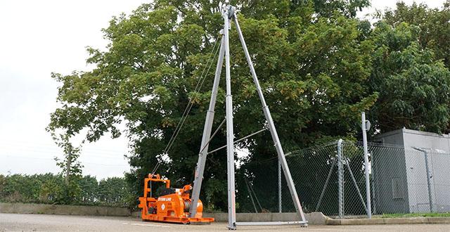 cable percussive rig, dando 1500, equipment, site investigation