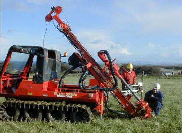 hillcat explorer, drillcorp, drilling rig