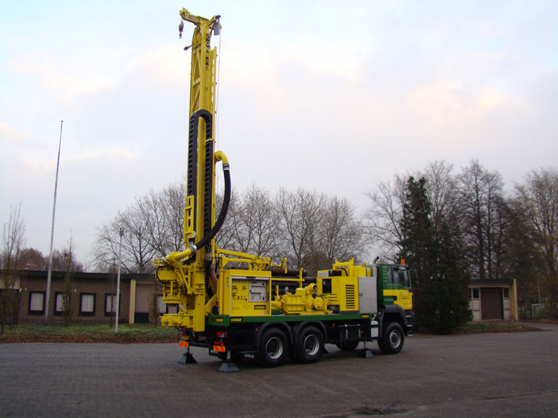 rotary drilling rig, conrad combi 500