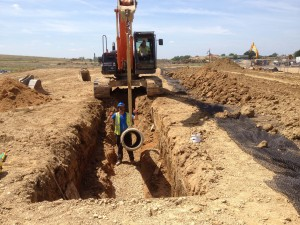 sustainable drainage design, suds, utilities development